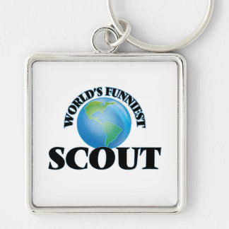 World's Funniest Scout Key Chain