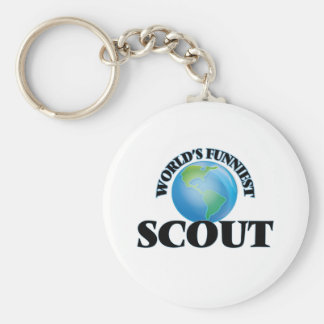 World's Funniest Scout Keychains