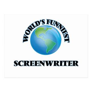 World's Funniest Screenwriter Postcards