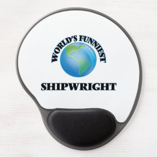 World's Funniest Shipwright Gel Mouse Pad
