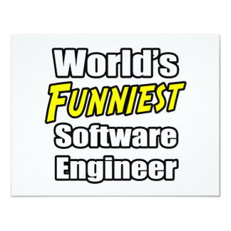 World's Funniest Software Engineer Card