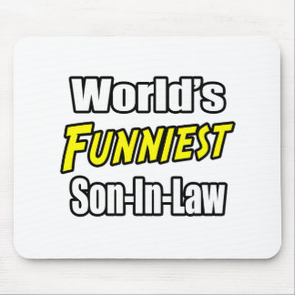 World's Funniest Son-In-Law Mousepads