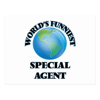 World's Funniest Special Agent Postcards