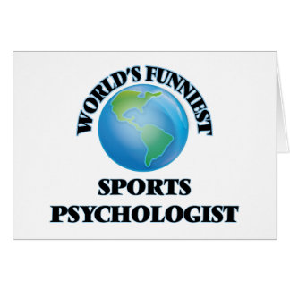 World's Funniest Sports Psychologist Greeting Cards