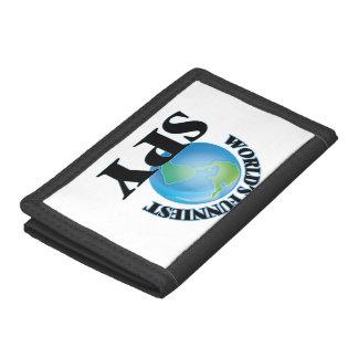 World's Funniest Spy Tri-fold Wallet