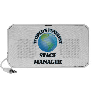 World's Funniest Stage Manager Mini Speakers