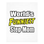 World's Funniest Step-Mom Letterhead