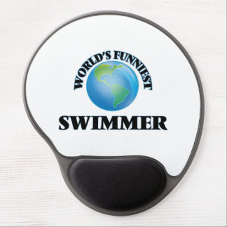 World's Funniest Swimmer Gel Mouse Pads