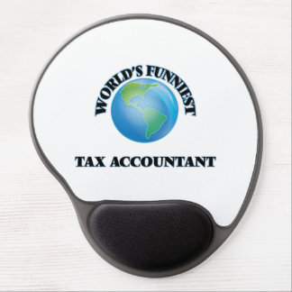 World's Funniest Tax Accountant Gel Mouse Pads