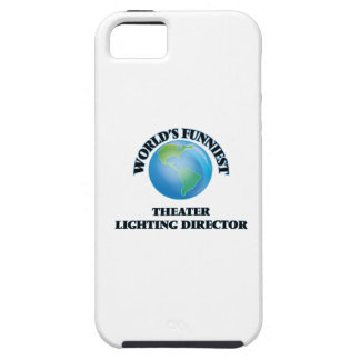 World's Funniest Theater Lighting Director iPhone 5 Cover