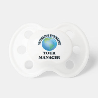 World's Funniest Tour Manager BooginHead Pacifier