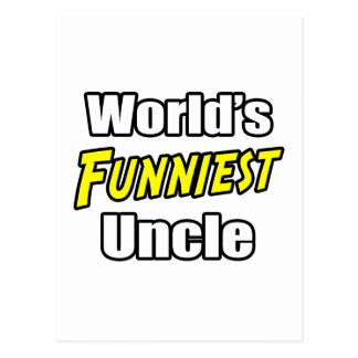 World's Funniest Uncle Postcard