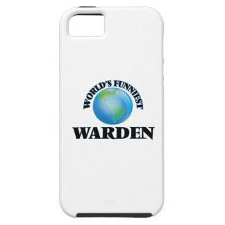 World's Funniest Warden iPhone 5 Case