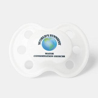 World's Funniest Water Conservation Officer BooginHead Pacifier