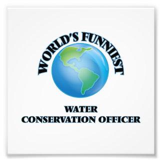 World's Funniest Water Conservation Officer Photo Art