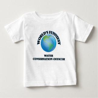 World's Funniest Water Conservation Officer Tshirt