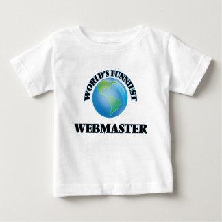 World's Funniest Webmaster T-shirt