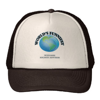 World's Funniest Welfare Rights Adviser Trucker Hat