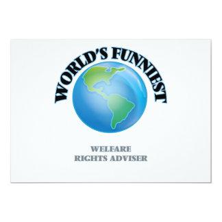 World's Funniest Welfare Rights Adviser Cards