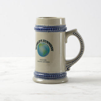World's Funniest Welfare Rights Adviser Coffee Mugs
