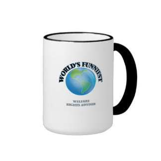 World's Funniest Welfare Rights Adviser Mug
