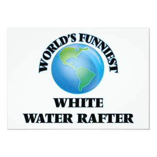 World's Funniest White Water Rafter Cards