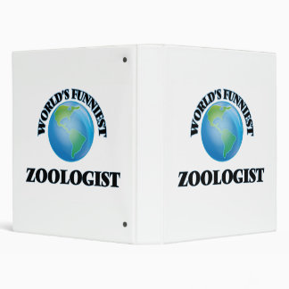 World's Funniest Zoologist Binders