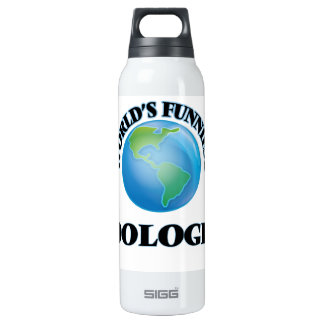 World's Funniest Zoologist 16 Oz Insulated SIGG Thermos Water Bottle