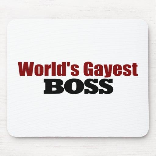 World'S Gayest Boss Mouse Mat
