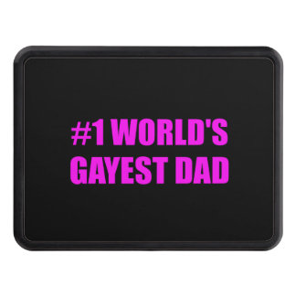 Worlds Gayest Dad Tow Hitch Cover