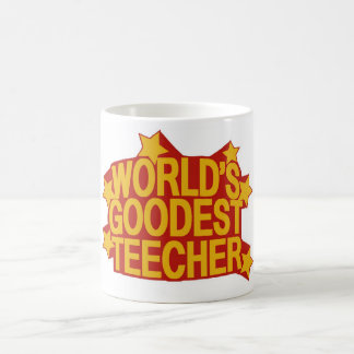 World's Goodest Teecher Coffee Mug
