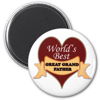 World's Great Grandfather Refrigerator Magnets
