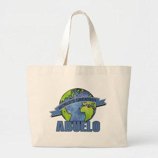 World's Greatest Abuelo Jumbo Tote Bag