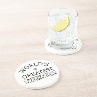 World's greatest Academic Dean Drink Coaster