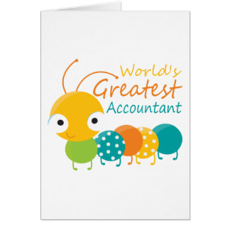 World's Greatest Accountant Card