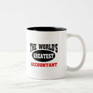 World's  greatest Accountant Two-Tone Coffee Mug