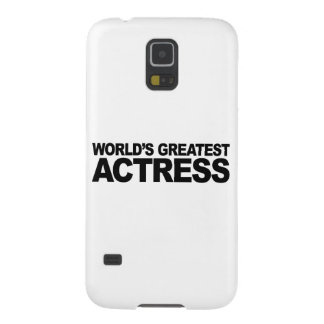 World's Greatest Actress Galaxy S5 Case