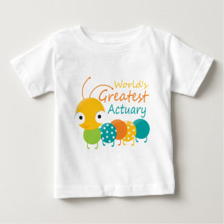 World's Greatest Actuary Baby T-Shirt