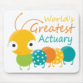 World's Greatest Actuary Mouse Pad