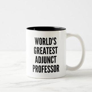 Worlds Greatest Adjunct Professor Two-Tone Coffee Mug