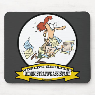 WORLDS GREATEST ADMINISTRATIVE ASSISTANT WOMEN MOUSE PAD
