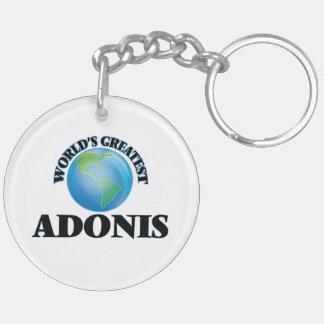 World's Greatest Adonis Acrylic Key Chain