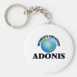 World's Greatest Adonis Key Chains