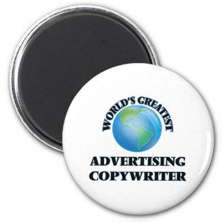 World's Greatest Advertising Copywriter Refrigerator Magnets