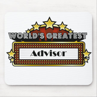 World's Greatest Advisor Mouse Pad