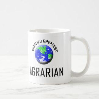 World's Greatest Agrarian Classic White Coffee Mug