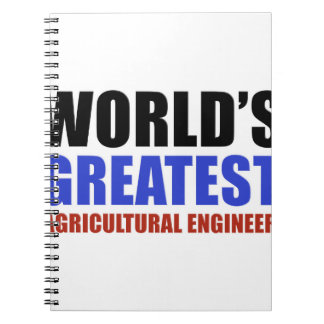 World's greatest Agriculture engineer Notebook