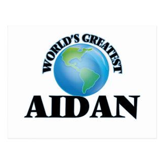 World's Greatest Aidan Postcard
