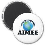 World's Greatest Aimee 2 Inch Round Magnet