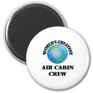 World's Greatest Air Cabin Crew Refrigerator Magnet